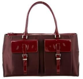 Tod's Bicolor Top Handle Bag