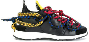 DSQUARED2 rope detail sneakers
