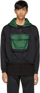 Cottweiler Black Half-Zip Pullover Jacket