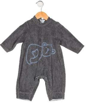Catimini Boys' Fleece Embroidered All-In-One