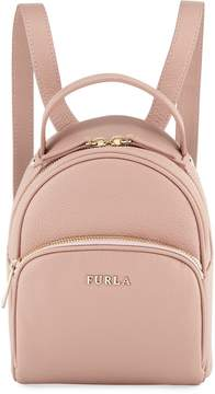 Furla Frida Mini Vitello Leather Backpack