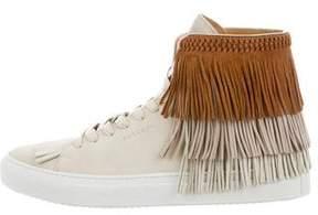 Buscemi Fringe 125mm Sneakers