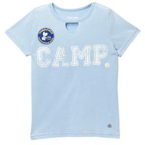 Butter Shoes Super Soft Campchella Tee (Big Girls)