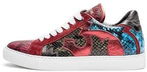 Zadig & Voltaire Women's Zv1747 Nash Tone Leather Sneakers