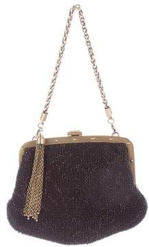 Gucci Beaded Frame Clutch - BLACK - STYLE