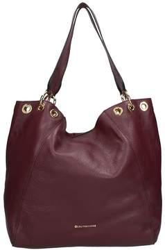 L'Autre Chose Burdundy Calf Leather Bag