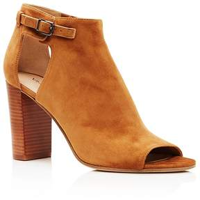 Via Spiga Giuliana High Heel Peep Toe Booties