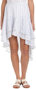 Flying Tomato Ruffle Midi Skirt