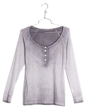 Cosabella | Rimini Wash Long Sleeve Top | L | Gray