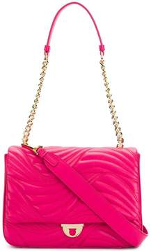 Salvatore Ferragamo quilted chain and leather strap shoulder bag