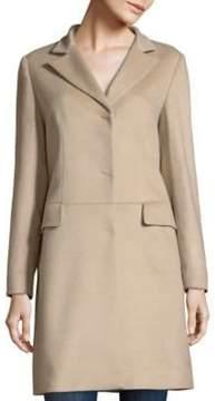 Cinzia Rocca Sand Cashmere Coat