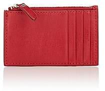 Barneys New York Women's Zip Card Case-Red