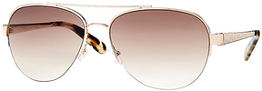 Safilo USA Kate Spade Marion Aviator Sunglasses