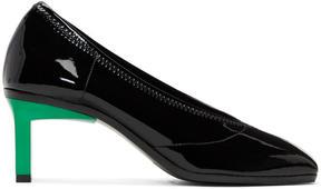 3.1 Phillip Lim Black Patent Blade Heels