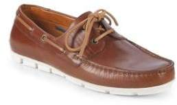 Vince Camuto Don Leather Boat Shoes