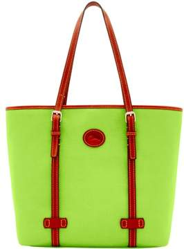 Dooney & Bourke Nylon East West Shopper Tote - APPLE GREEN - STYLE