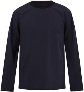 Lemaire Long-sleeved cotton-poplin top