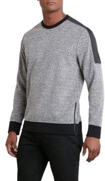 Kenneth Cole New York Reaction Kenneth Cole Long-Sleeve Textural Crew - Men's