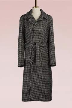 Ami Long Wool Coat
