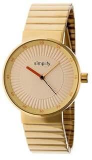 Simplify Men's The 4600 Quartz Watch.
