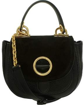 Michael Kors Women's Small Isadore Messenger Leather Bag - Black - BLACK - STYLE