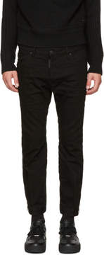 DSQUARED2 Black Biker Sky Jeans