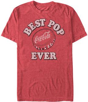 Fifth Sun Coca-Cola Red Heather 'Best Pop Ever' Tee - Men