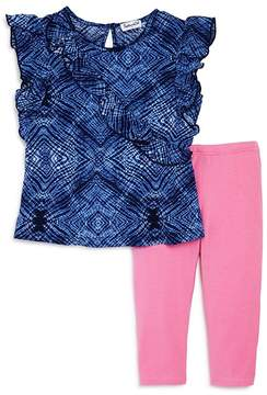Splendid Girls' Ruffled Top & Leggings Set - Little Kid
