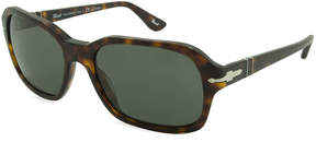 Asstd National Brand Persol Sunglasses - Po3136S / Frame: Havana Lens:Polarized Green (57Mm)