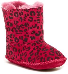 UGG Cassie Leopard Genuine Sheepskin Boot (Baby)