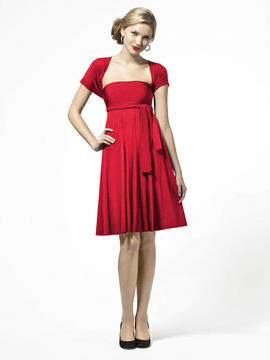 Dessy Collection LBTWIST Dress In Flame
