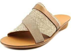Paul Green Bayside Open Toe Leather Slides Sandal.