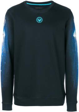 Frankie Morello printed long sleeved sweatshirt