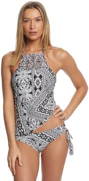 Coco Rave Playa It Cool Marley High Neck Halter Tankini Top 8153873