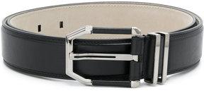 Brioni buckled belt