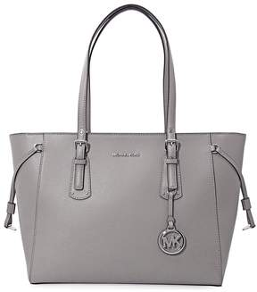 Michael Kors Voyager Medium Multifunction Tote - Pearl Grey - ONE COLOR - STYLE