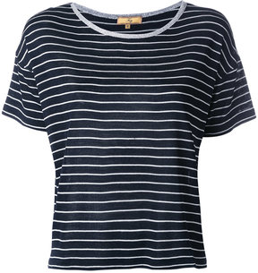 Fay striped knitted T-shirt