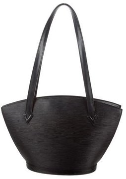 Louis Vuitton Epi St. Jacques Shopping PM - BLACK - STYLE