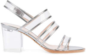 Ritch Erani NYFC transparent strap sandals