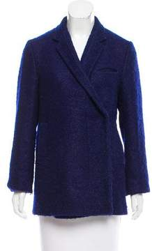 CNC Costume National Double-Breasted Wool & Mohair-Blend Coat