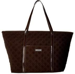 Vera Bradley Trimmed Vera Traveler Bags - ESPRESSO - STYLE