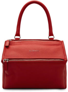 Givenchy Red Small Pandora Bag