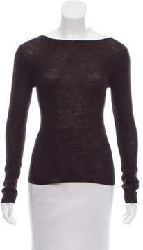 Susana Monaco Rib Knit Wool Top