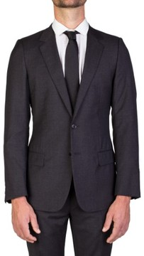 Christian Dior Men's Virgin Wool Two-Button Suit Charcoal Grey