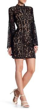 Do & Be Do + Be Bell Sleeve Lace Dress