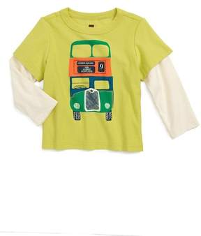 Tea Collection Dundee Bus Layer T-Shirt (Baby Boys)