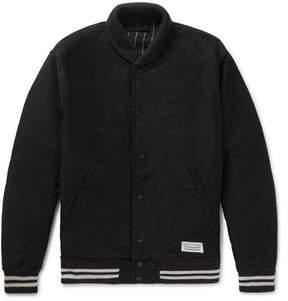 Wacko Maria Embroidered Cotton Bomber Jacket