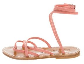 K Jacques St Tropez Suede Multistrap Sandals w/ Tags