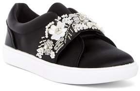 Betsey Johnson Eva Embellished Slip-On Sneaker