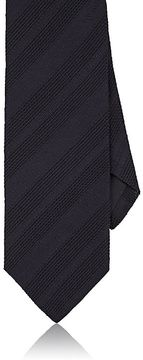 Drakes Drake's Men's Striped Silk Jacquard Necktie